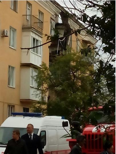 Видео взрыва дома в Волгограде появилось в Сети. Фото Виктория Ионова