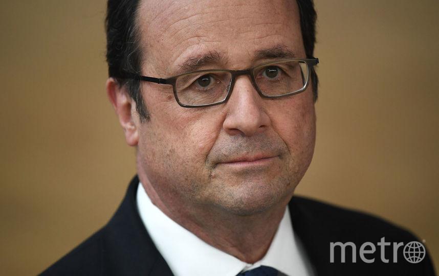 Экс-президент Франции Франсуа Олланд. Фото Getty