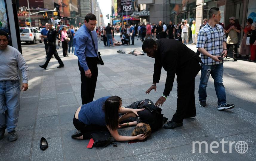 Кадры с места происшествия. Фото AFP
