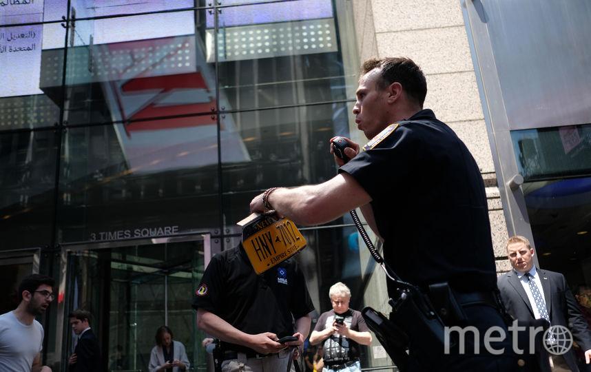 Кадры с места происшествия на Таймс-сквер. Фото AFP