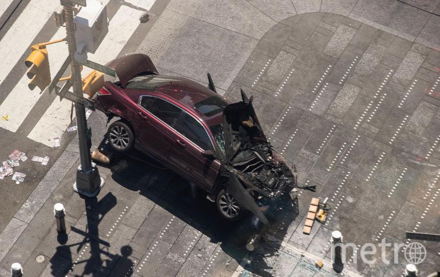 Водитель, наехавший напешеходов вНью-Йорке, схвачен  впьяном виде