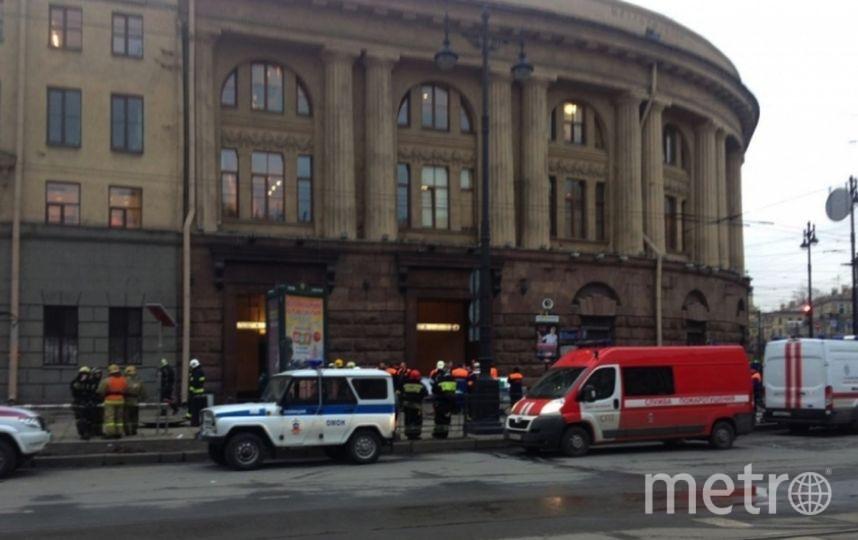 Теракт в метро Петербурга - фотоархив.