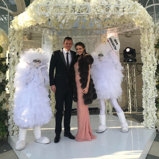 Анастасия Костенко и Дмитрий Тарасов. Фото Instagram Дмитрия Тарасова