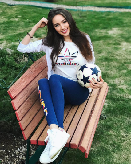 Анастасия Костенко . Фото Instagram Анастасии Костенко