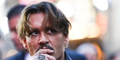 Джонни Депп на премьере фильма в Голливуде. Фото Getty