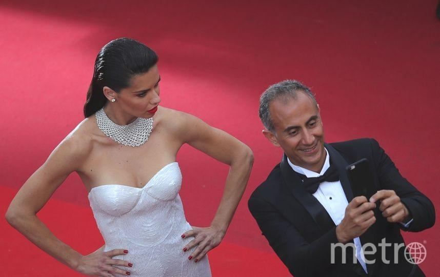 Каннский кинофестиваль-2017. 2 день. Адриана Лима. Фото Getty