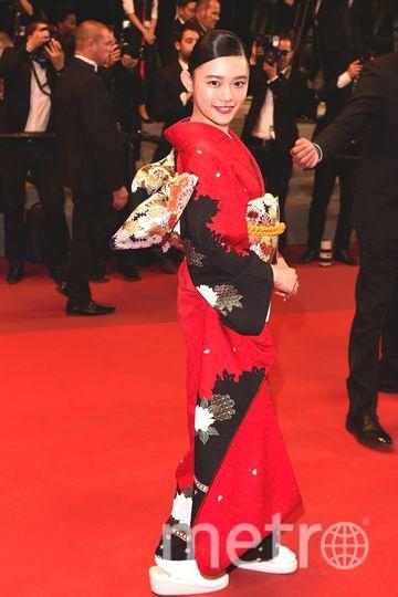 Каннский кинофестиваль-2017. 2 день. Хана Сугисаки. Фото Getty