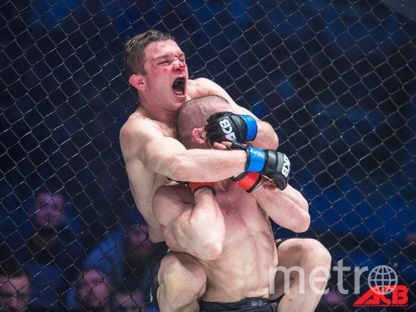 Марат Балаев в чемпионском бою с Юсуфом Раисовым. Фото Предоставлено пресс-службой АСВ