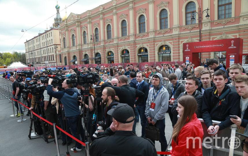 В Петербурге открылся парк Кубка конфедераций. Фото gov.spb.ru