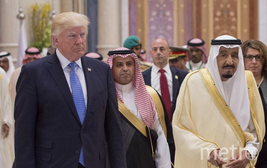 Визит Дональда Трампа в Саудовскую Аравию. Фото AFP