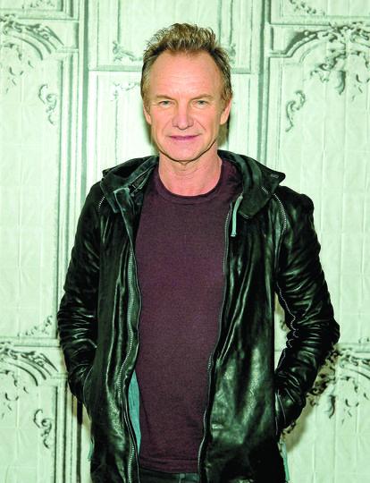Певец Sting гастролирует по странам Латинской Америки со своим новым альбомом. Фото Getty