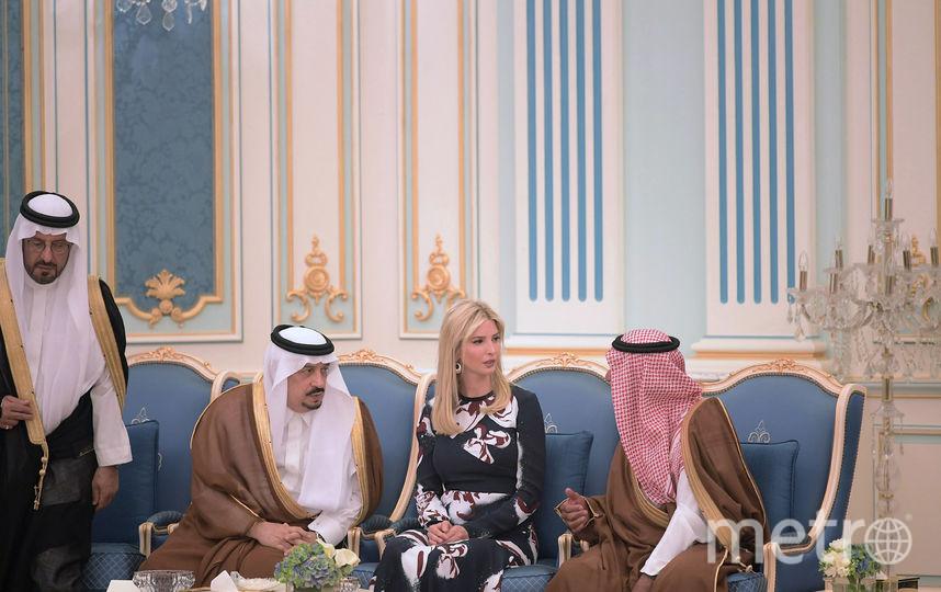 Меланья и Иванка Трамп в Эль-Рияде. Фото AFP
