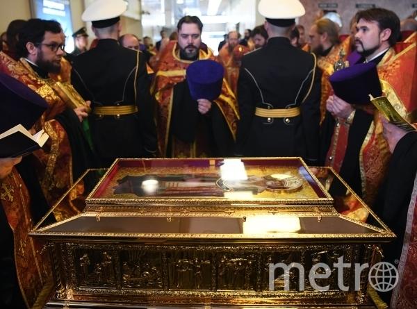 В столицу доставлены мощи святителя Николая. Фото РИА Новости