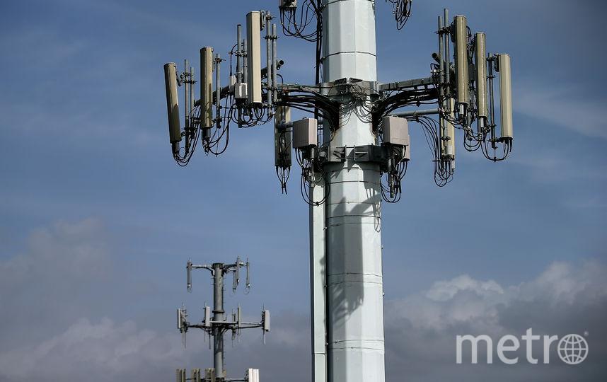 Вышка сотовой связи. Фото Getty
