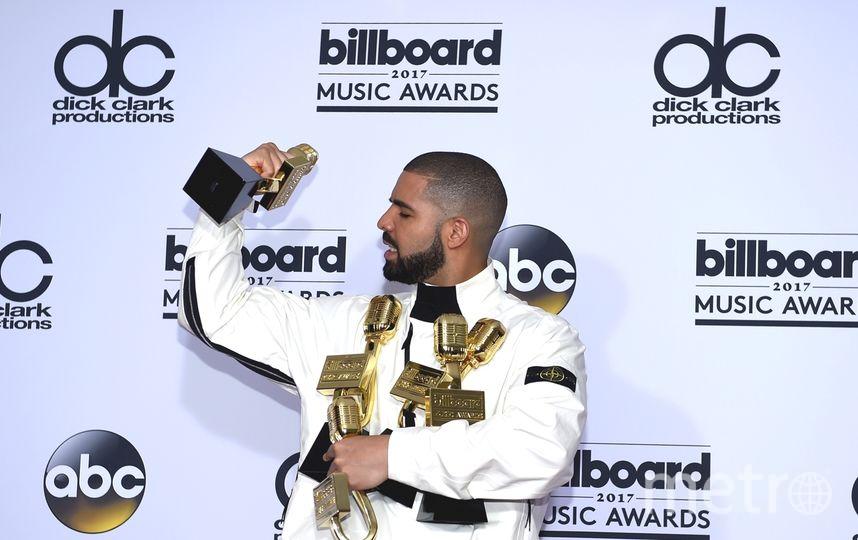 хип-хоп исполнитель Дрейк. Billboard Music Awards-2017. Фото Getty