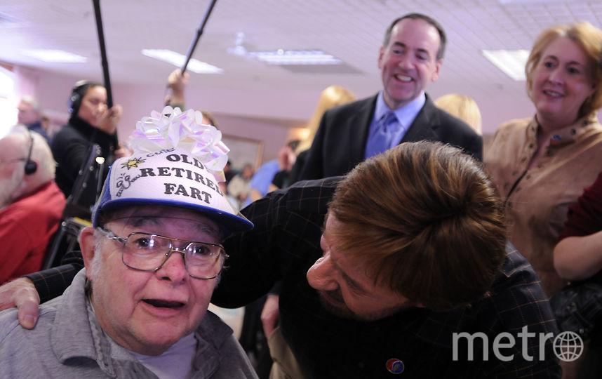 Чак Норрис проиграл бабушке. Фото Getty