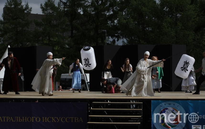 Ромео и Джульетта на ВДНХ. Фото Илья Ордовский-Танаевский