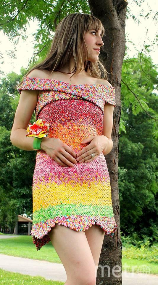 Эмили в платье. Фото предоставила Эмили Сейлхэмер