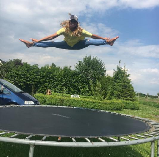 Олимпийская чемпионка Инге де Брюин. Фото Instagram Инге.