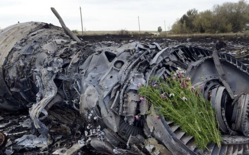 "Обломки разбившегося ""Боинга"". Фото AFP"