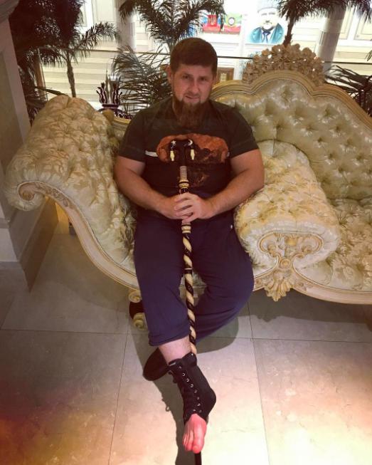 Личные фото Рамзана Кадырова. Фото Instagram @kadyrov_95.