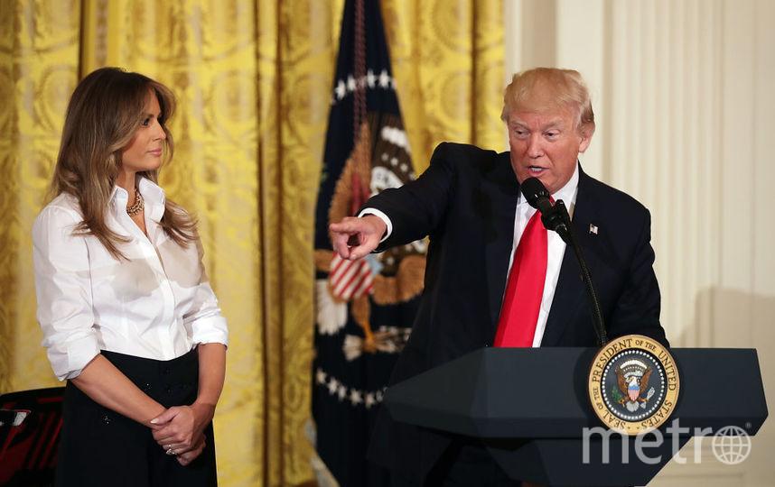 Мелания и Дональд Трамп - фотоархив. Фото Getty