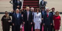Мелания Трамп оттолкнула руку супруга во время приёма в Израиле (видео)