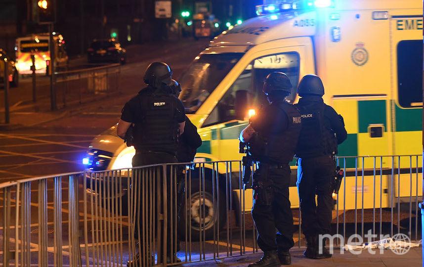 Число погибших при взрыве на стадионе в Манчестере достигло 22 человек. Фото AFP