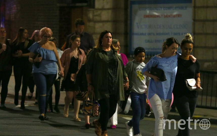 Теракт в Манчестере: все фото с места событий. Фото Getty