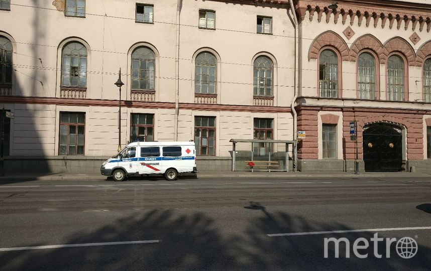 23 мая перекрывали Литейный проспект. Фото vk.com