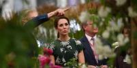 Изумрудное платье Кейт Миддлтон очаровало публику
