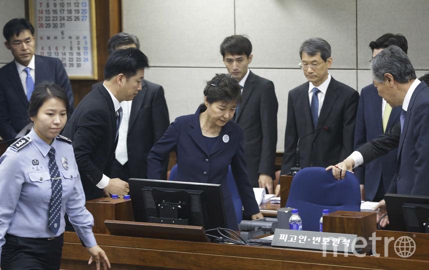 В Сеуле начался суд над бывшим президентом Пак Кын Хе. Фото AFP