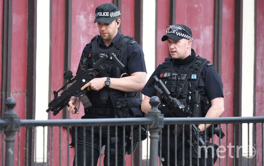 Полиция в Манчестере. Фото AFP