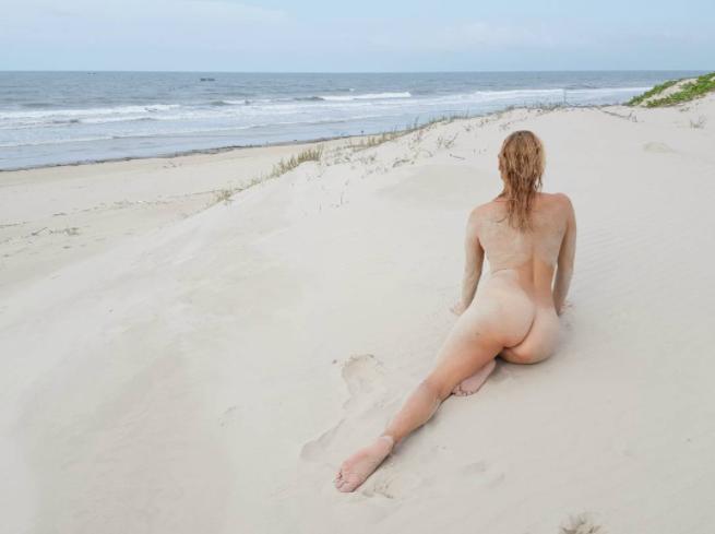 Фото с пляжа. Фото Instagram gingerfoxfoto