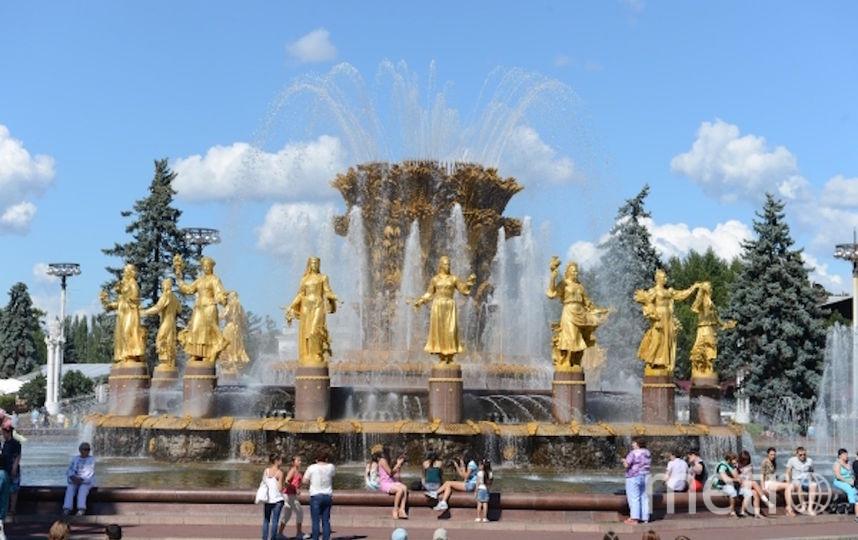 Лето в Москве ожидается благоприятным. Фото Василий Кузьмичёнок