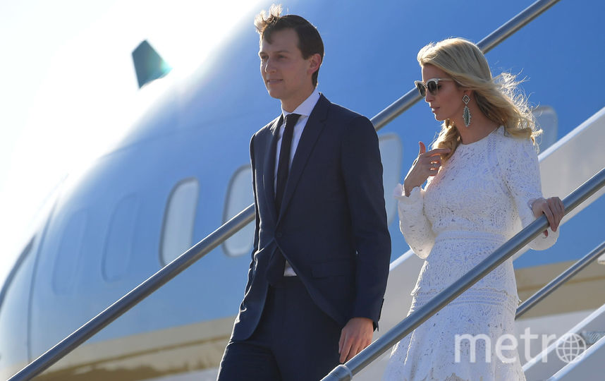 Самолёт Дональда Трампа приземлился в Италии. Фото AFP