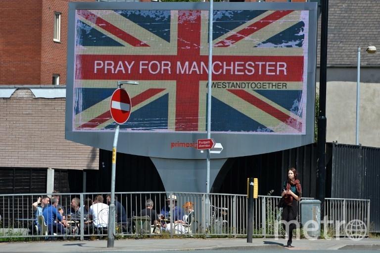 Фотографии с места теракта в Манчестере. Фото AFP