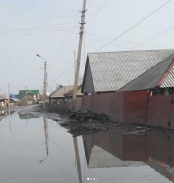 Ставрополье затопило дождями. Фото instagram