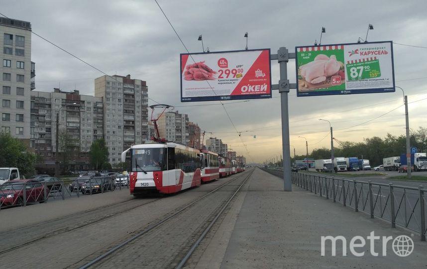В петербургском трамвае умер человек. Фото «ДТП и ЧП | Санкт-Петербург», vk.com