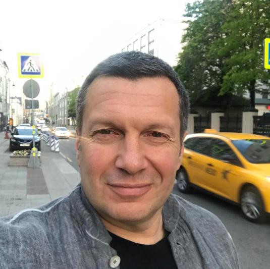 Владимир Соловьёв. Фото Instagram Владимира Соловьёва