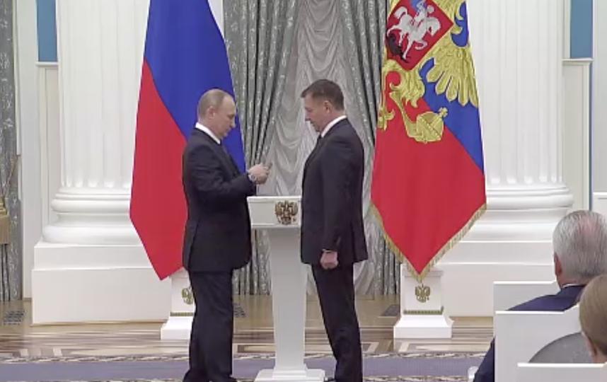 Вручение госнаград в Кремле. Фото kremlin.ru