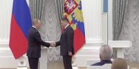 Путин наградил Терешкову, Третьяка и Меньшову