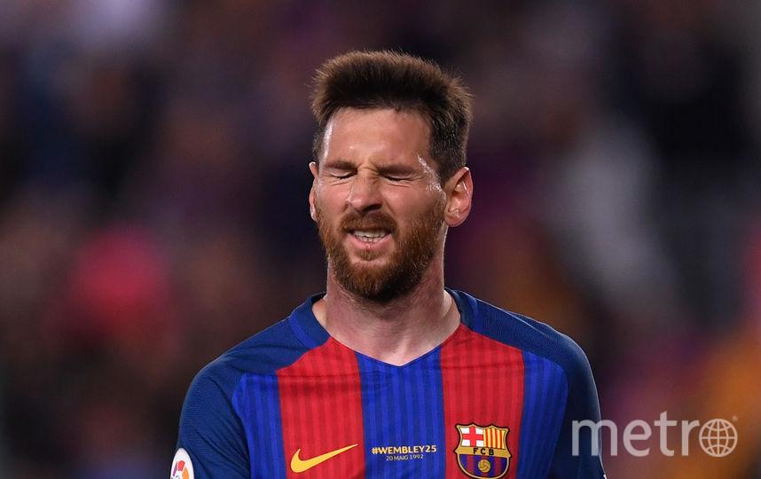 "Нападающий ""Барселоны"" Лионель Месси. Фото Getty"