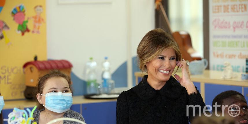 По стопам Дианы: Меланья Трамп посетила детскую больницу в Ватикане
