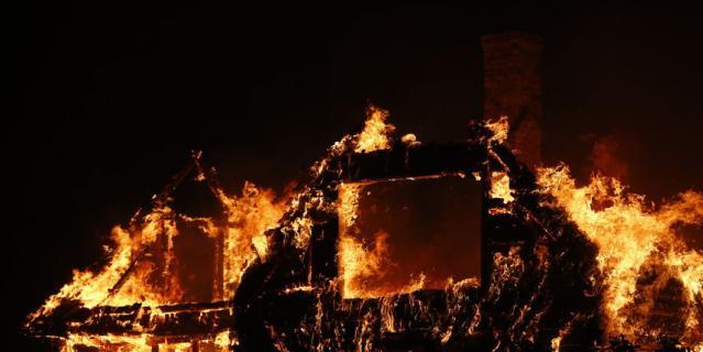 В Красноярском крае сгорели более 70 домов