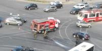 Мотоциклиста сбила машина на Энгельса в Петербурге