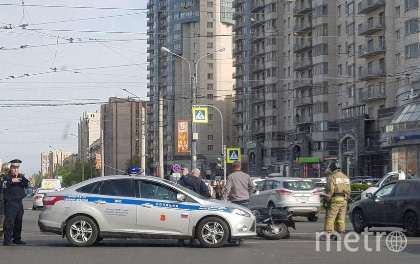 ДТП и ЧП | Санкт-Петербург | vk.com/spb_today. Фото Анастасия Пескова, vk.com