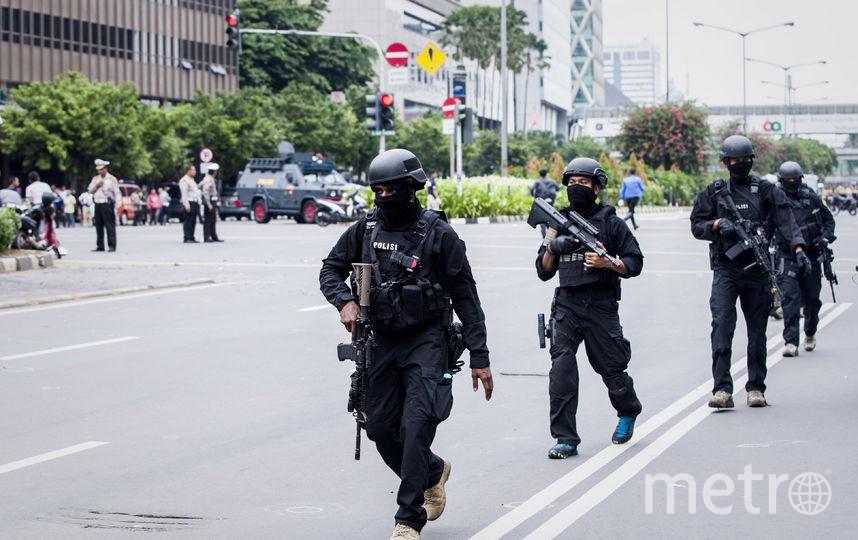 Полиция Индонезии. Фото Getty