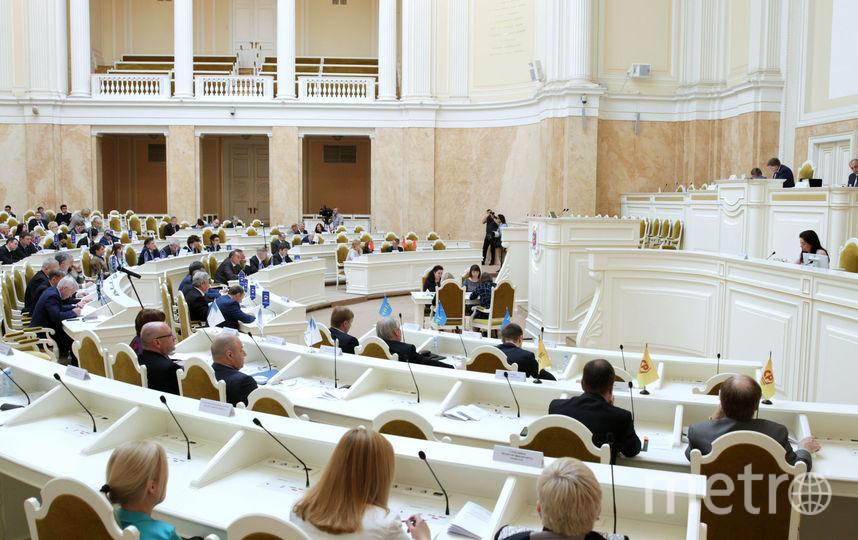 На заседании ЗакС одобрили генплан Петербурга. Фото assembly.spb.ru