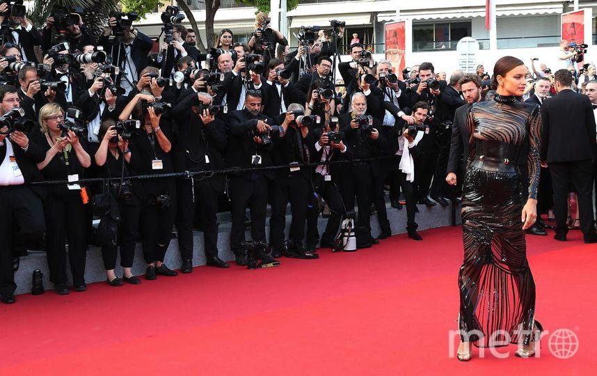 Ирина Шейк удивляет в Каннах. Фото Getty